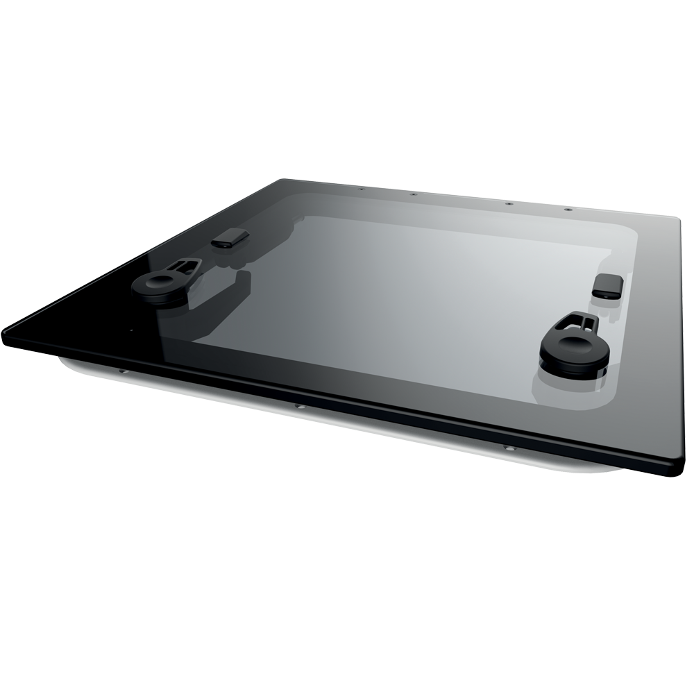 MARINE PARTS LEWMAR 39910812 Flush Hatch, Gen 2, Size 10, 330x330mm, Dark Grey NEW
