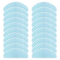 haeger washable mop pads for ecovacs deebot ozmo t9 t9 max t9 aivi t8 vacuum cleaner microfiber mopping cloth rags