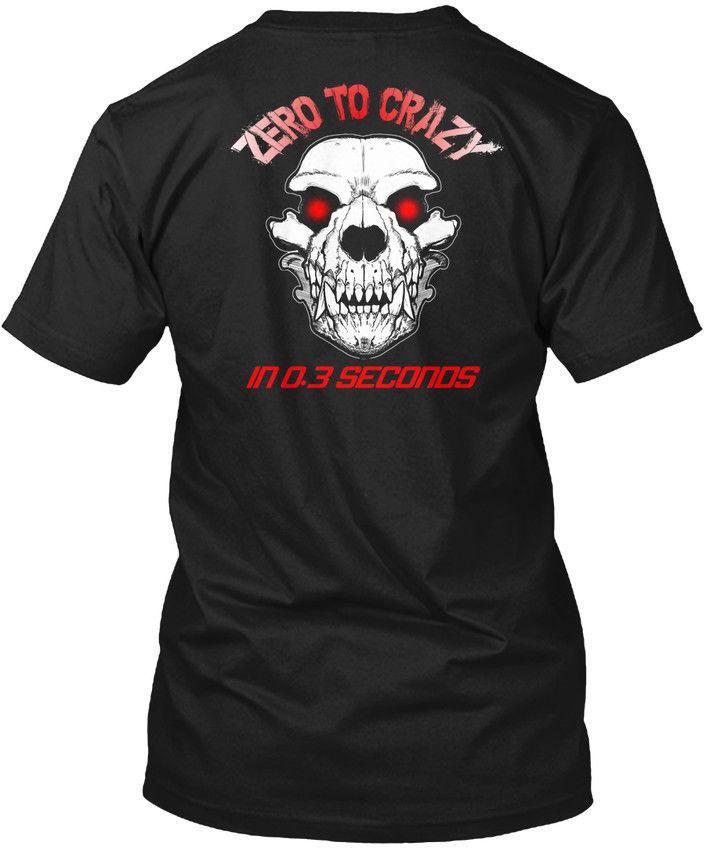 Razy K-9 K9 perro policía-Zero To In 0,3 Seconds camisa tamaño S to Cool Casual pride camiseta hombres Unisex nueva moda camiseta