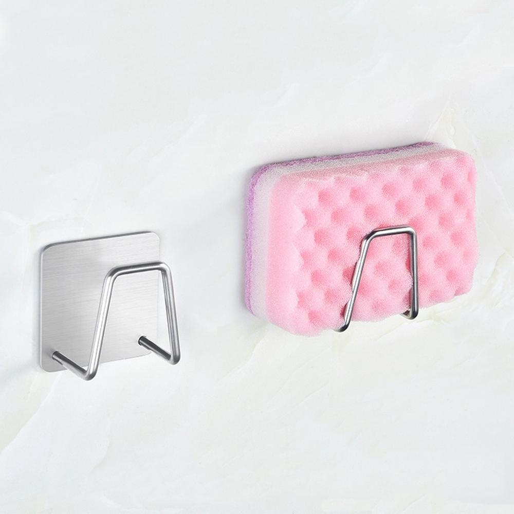 2 шт Кухня Ванная комната разное органайзеры нержавеющая сталь держатель для губок на кухню щетка мыло для мытья посуды Слив для жидкости