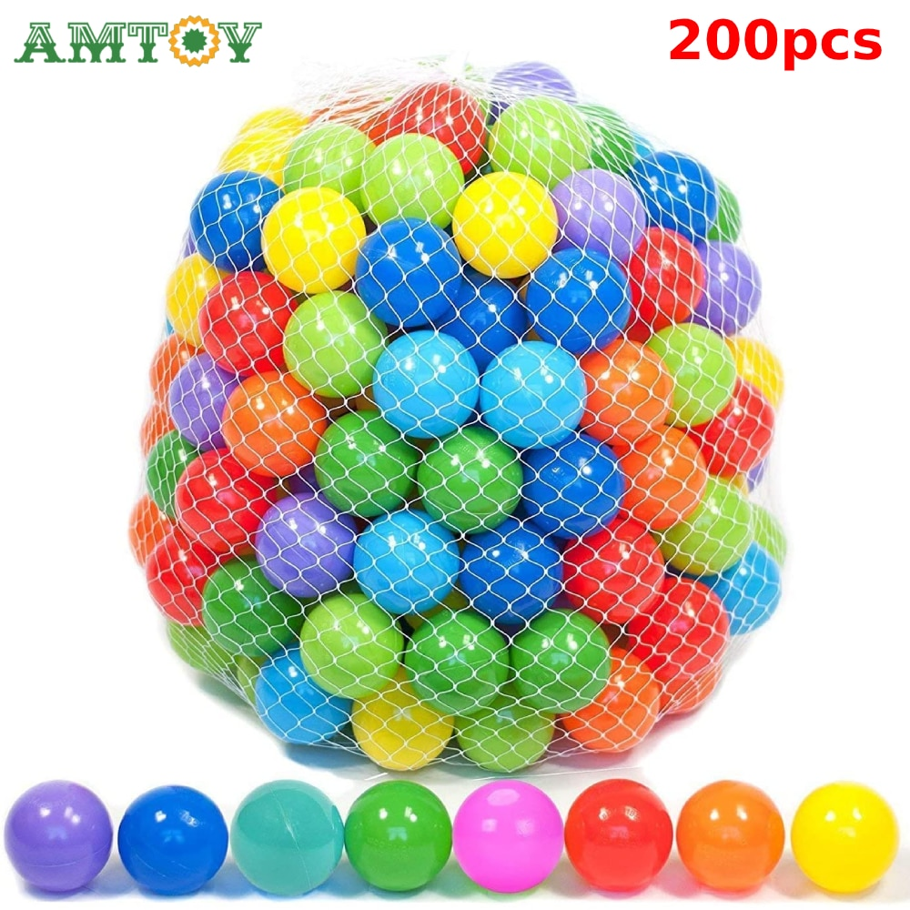 Colors Baby Plastic Balls Water Pool Ocean Wave Ball Kids Swim Pit With Basketball Hoop Play House Outdoors Tents Toy Water Pool