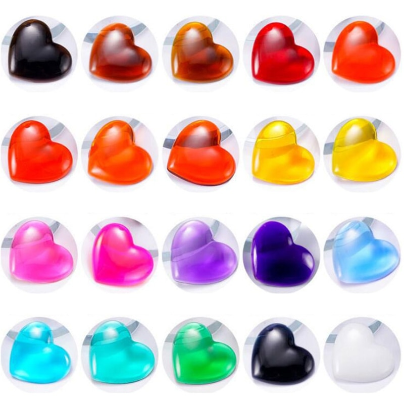 24 Colors Crystal Epoxy Pigment UV Resin Dye DIY Art Crafts Jewelry Colorant Set enlarge