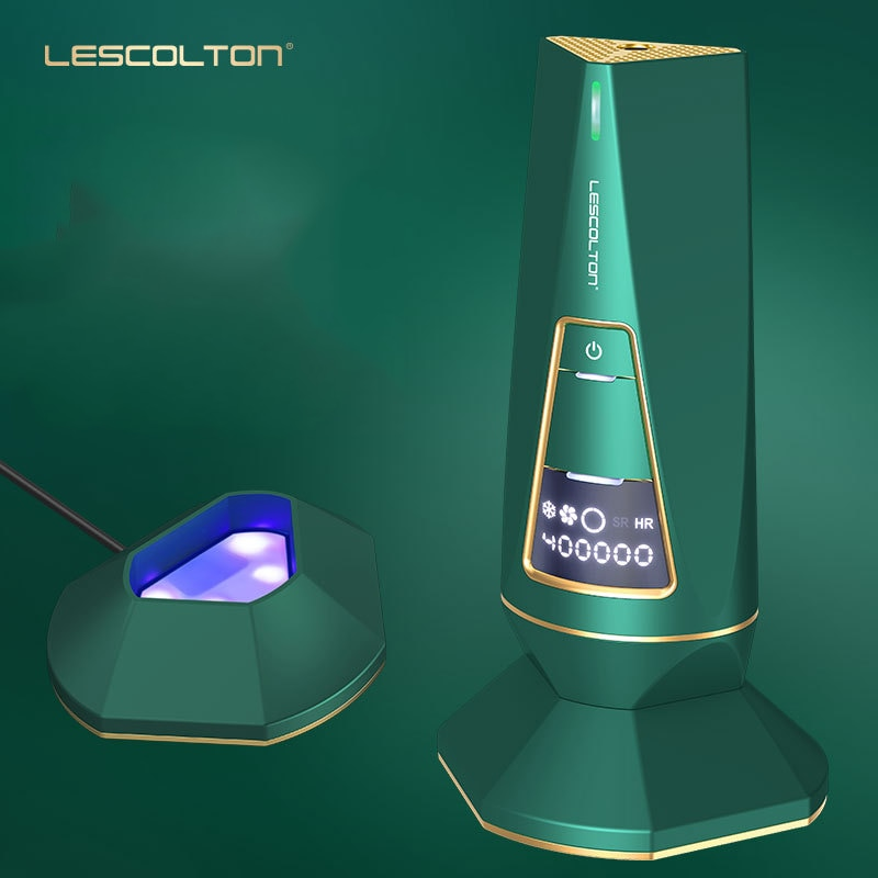 Lescolton Multifunction IPL Photon Depilator Freezing Point Depilator Body Depilator Tool enlarge