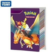TAKARA TOMY 240 pièces Pokemon cartes Album livre Anime jeu carte classeur dossier collectionneurs enfants chargés liste titulaire capacité jouets