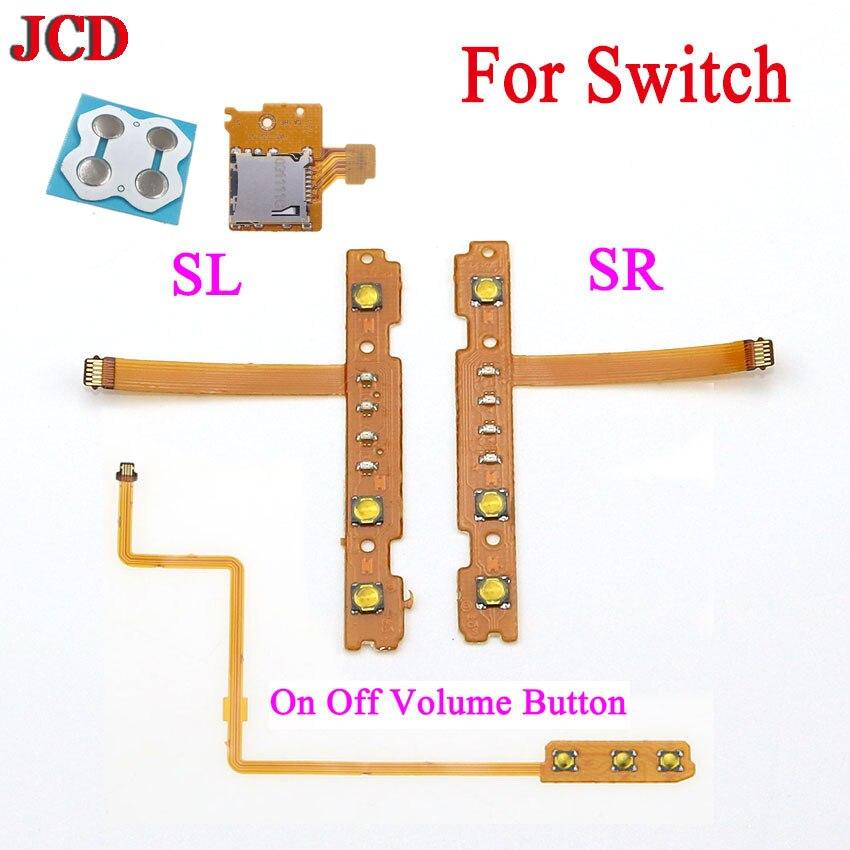 JCD NS Kit De Reparación Para Interruptor De Nintendo Con controlador SL/SR...