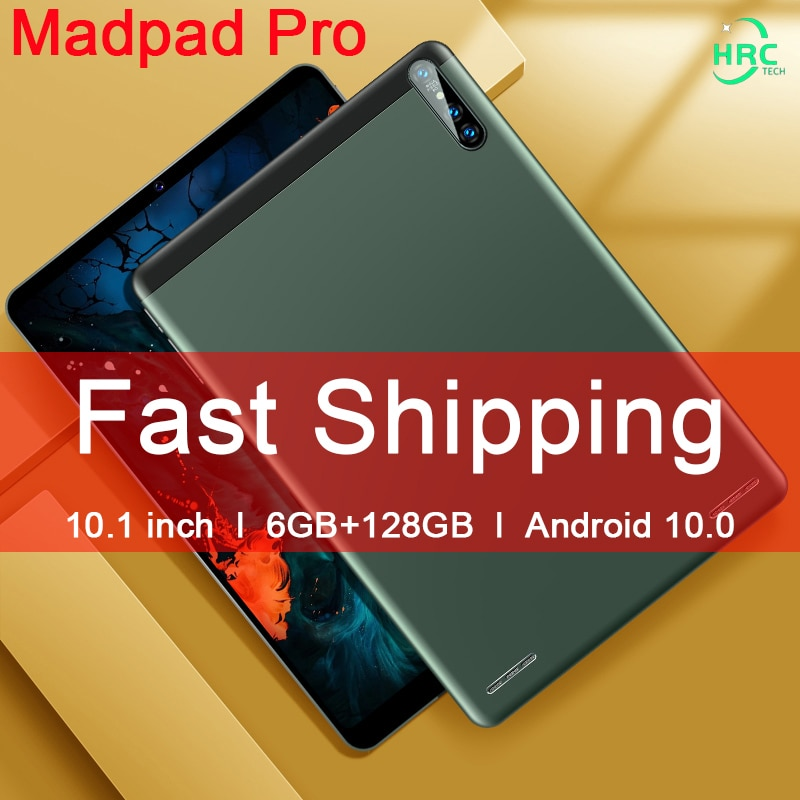 Global Version Matepad Pro 10.1 inch Android 10 Tablet PC 6GB RAM 128GB ROM MTK6797 Tablets 1920*120