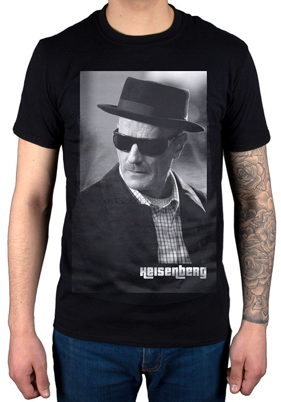 Breoking cuerpo Wolter blanco Heisenberg camiseta Crystol metanfetamina Jesse Pinkmon divertida camiseta para los hombres (1)