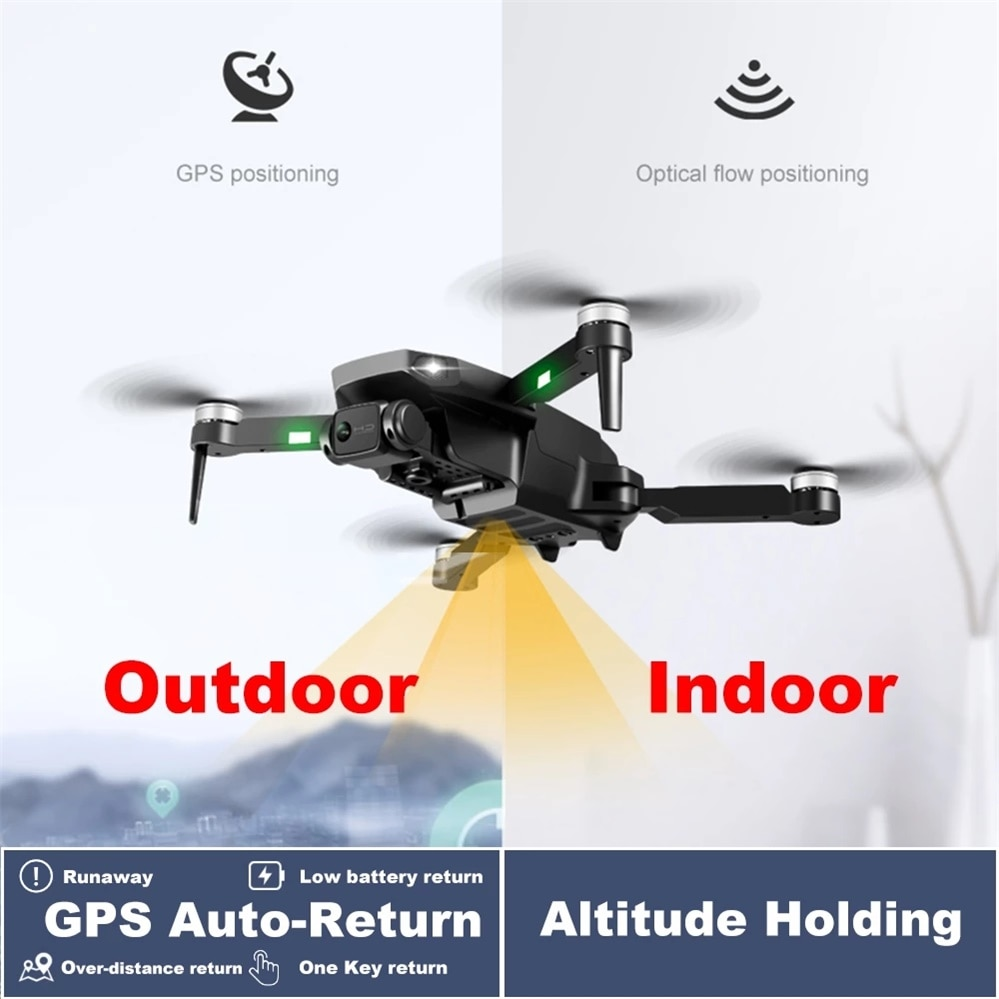 New Rg-101 Drone 6K Hd Profesional Brushless Motor Helicopters 5G Wifi Fpv Camera Drones Gps RC Quadcopter Distance 3Km enlarge