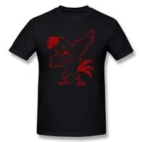 harajuku dabbing chicken farming birthday funny unisex graphic fashion new short sleeve t shirts o neck t shirt