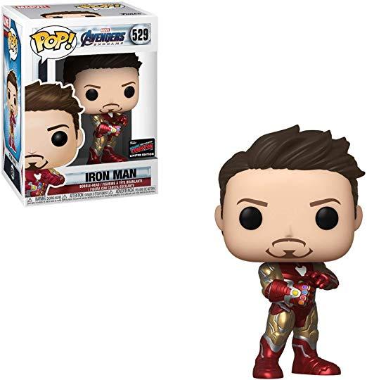 Funko Marvel Avengers Iron Man Tony 529 # Action action figures wokół filmów i TV modele zabawek wyświetlacz sztuk kolekcja prezent