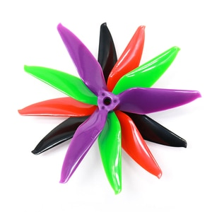 TCMM New Arrival 10 Pairs 5051 3-Blade Single Color Propeller Blade 5.0mm Mounting Hole for FPV Racer RC Drones