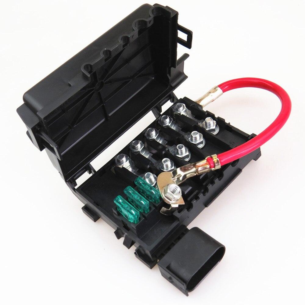 FHAWKEYEQ batería de coche caja de fusibles de escarabajo VW Jetta MK4 Golf MK4 Bora 4 asiento Leon Toledo 1J0 937, 617 D 1J0 937 550 1J0 937 550B