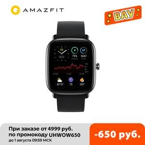 Смарт-часы Amazfit GTS 2 Mini, смарт-часы с функцией отслеживания сна, 70 спортивных режимов