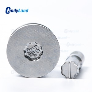 CandyLand Lollipop Logo Tablet Die 3D Pill Press Mold Candy Punching Die Custom Logo Calcium Tablet Punch Die For TDP 0 Machine