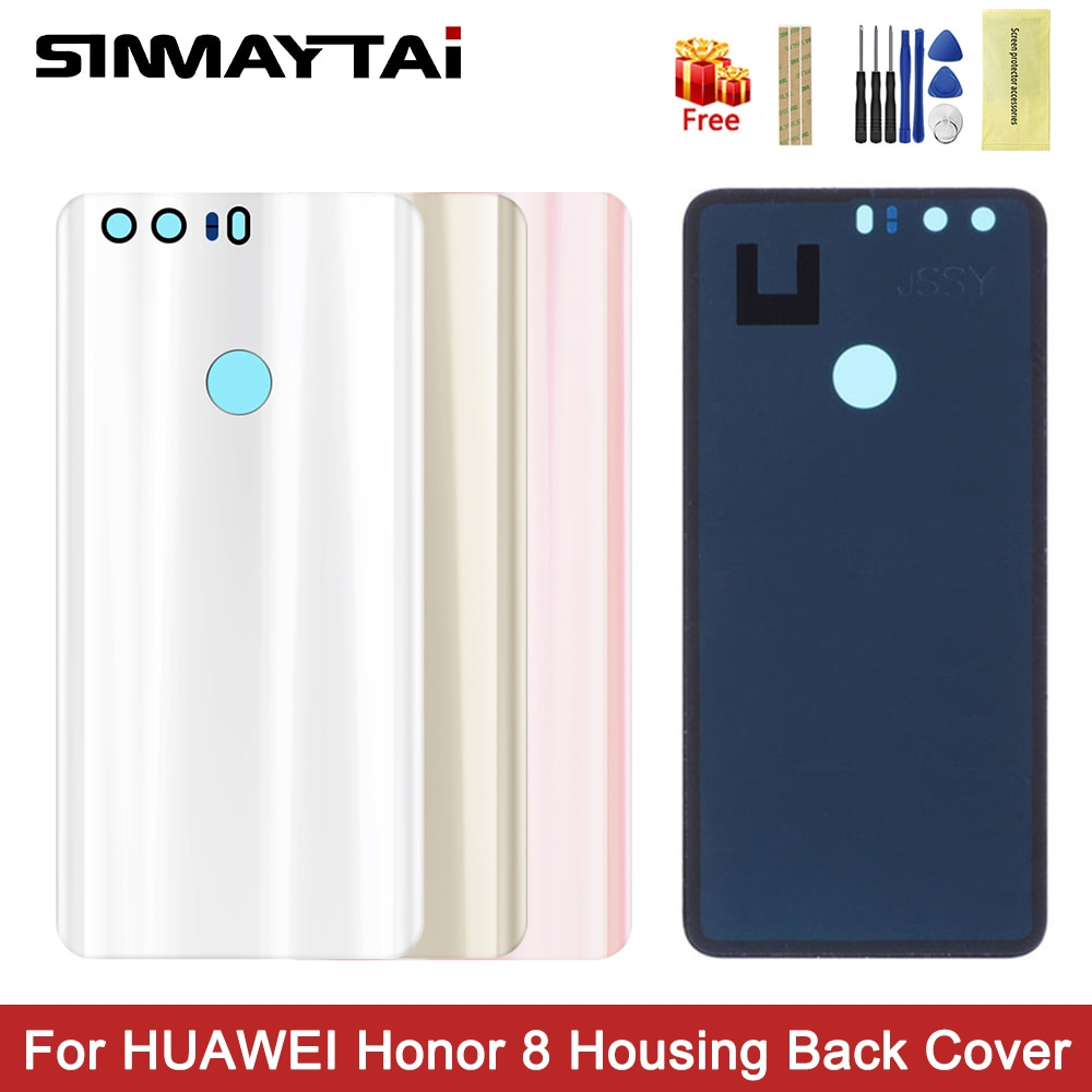2020 Новый чехол для задней панели Huawei honor 8, чехол для задней панели батареи Honor8, Сменный Чехол для задней двери, жесткие запчасти для ремонта
