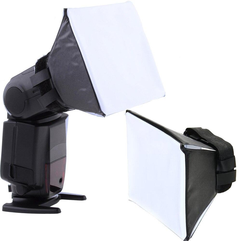 Gosear Universal foto Difusor de luz de flash Softbox Soft caja de boxeo para Canon Nikon Sony Sigma Pentax Vivitar cámaras