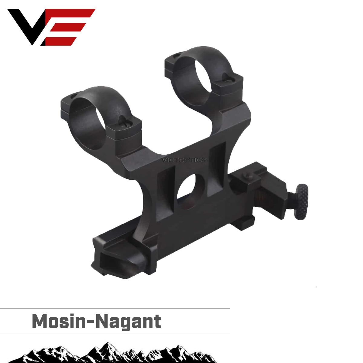 Óptica do vetor réplica mosin nagant escopo montagem em aço lateral para 25.4mm 1 Polegada riflescope