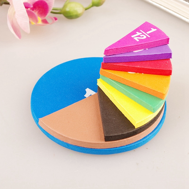 Circular Fractions Counting Kids Early Educational Math Toys Math Operation Learning Teaching Toys addition and subtraction operation games learning math educational toys wooden parent child kindergarten teaching aids toys