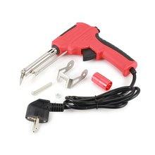 220V 60W automatique alimentation soudage pistolet à souder automatique envoyer étain pistolet réglable soudure outil Kit étain fer à souder Kit