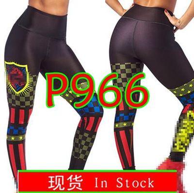 Pantalones para mujer ADIBAO, pantalones deportivos capri para correr, ropa ajustada, legging capri, Ropa de baile, leggings yago P966