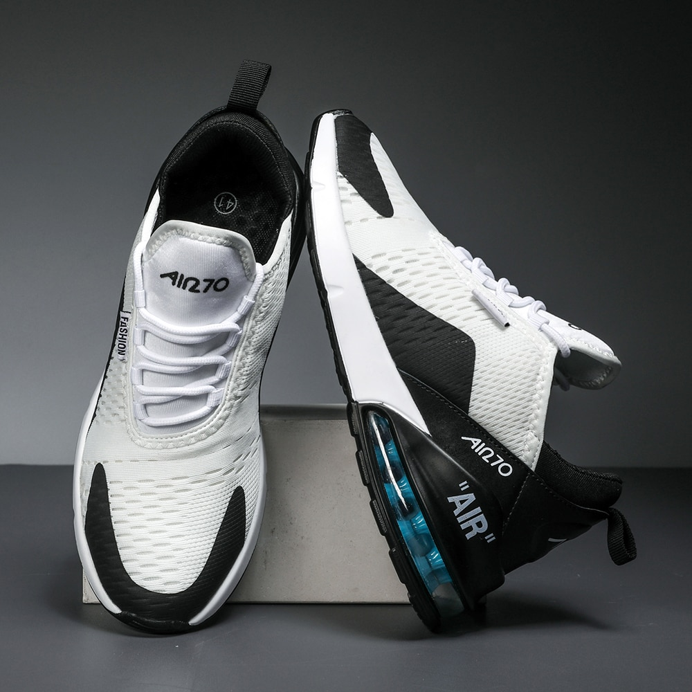 Unisex Air Cushion Running Shoes 35-46 Men Women Sneakers Breathable Light Sports Shoes Training Shoes Lover's Jogging Shoes stylish skateboarding shoes unisex classic white shoes men women leisure waterproof air cushion skateboard shoes flat sneakers