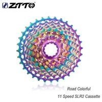 ztto road bike cassette flywheel multicolor ultralight flywheel bicycle 11 speed 28t 32t 34t 36tcnc slr colorful cassette