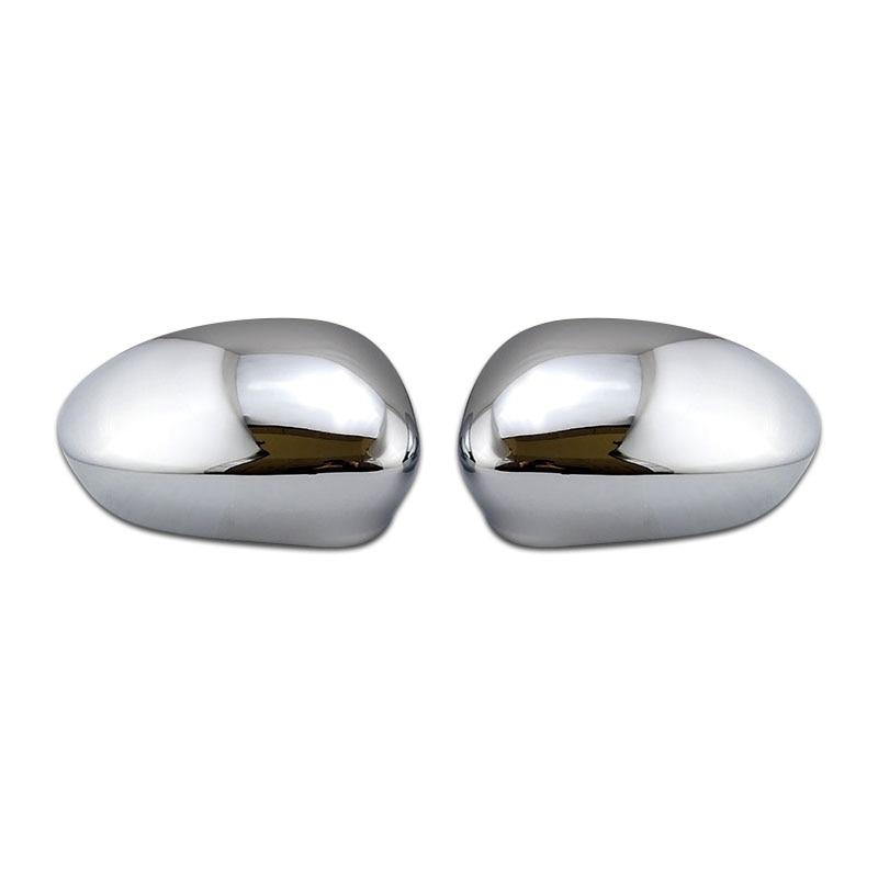 Chrome RHD & LHD Wing Side Mirror Cover cap Primed ABARTH Grande Punto  evo for FIAT 500 2007-2019