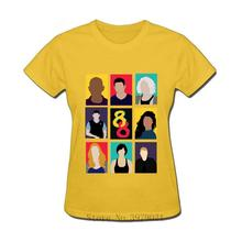 2019 High Quality womens Sense 8 Sensates T Shirt short sleeve O-neck 100%cotton Fashion Movie ladys Tees
