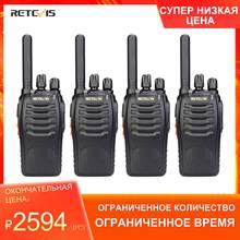 PMR Радио рация 4 шт. RETEVIS H777 Plus PMR446 H777 FRS двухстороннее радио USB зарядное устройство портативные рации для охоты