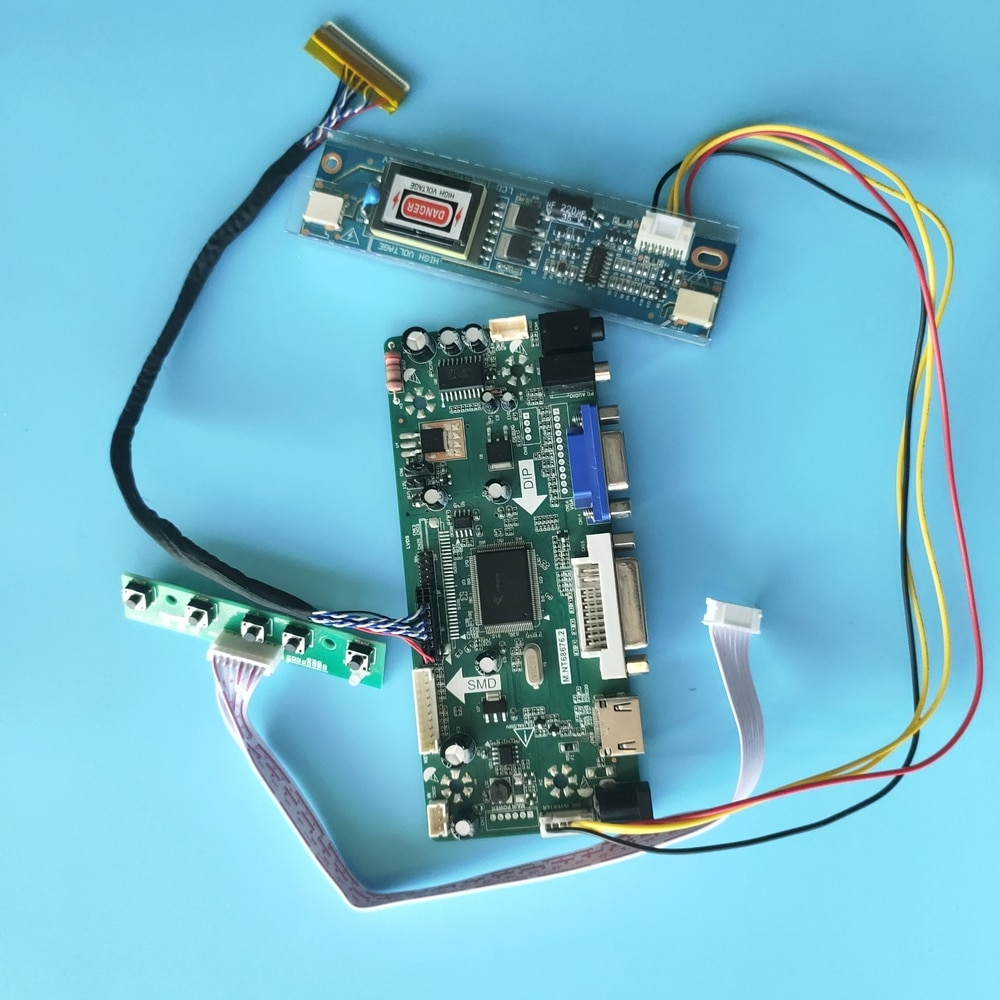 لوحة شاشة لـ LTM220MT05 1680x1050, لوحة شاشة ، 30pin HDMI + DVI + VGA LCD ، لوحة تحكم الصوت 2 مصباح