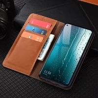 first layer genuine leather wallet case for samsung galaxy note 5 8 9 10 20 plus pro ultra magnetic flip cover cases