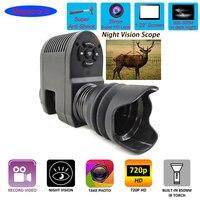 Megaorei 3 Night Vision Rifle Scope HD720P Video Record Photo Taking NV007 Hunting Optical Sight Camera 850nm Laser Infrared IR