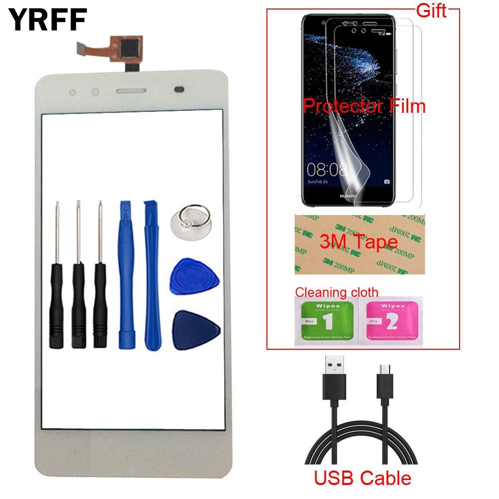 5'' Mobile Phone Front Touch Screen For BQ Aquaris X5 Touch Screen Glass Digitizer Panel Sensor Capa