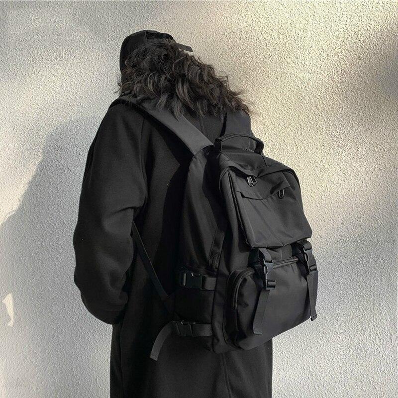 Женский рюкзак, новый модный универсальный женский рюкзак, школьный рюкзак, вместительный черный рюкзак, женский рюкзак