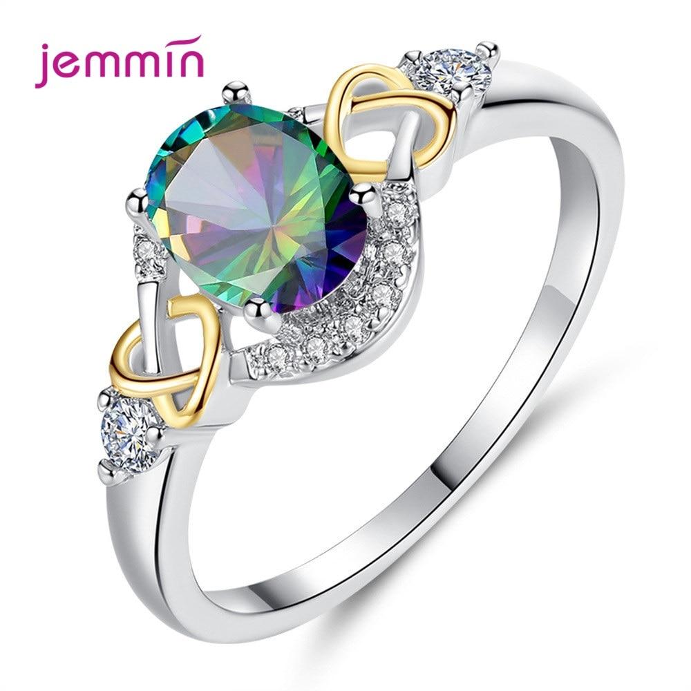 Regalo de día de San Valentín para mujer 925 plata esterlina gran Circonia cúbica roja anillo de boda brillante AAA anillo de circonio CZ chicas joyería de fiesta de Anel