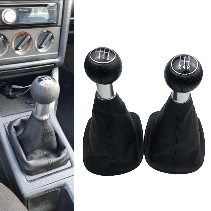 5/6 Speed Lever Shifter Gear Shift Knob Gaiter Boot Cover For VW Passat B5 B5.5 1998-2004 B5 FL (00-05) 3B B5 3B2 3B5 1996-2000