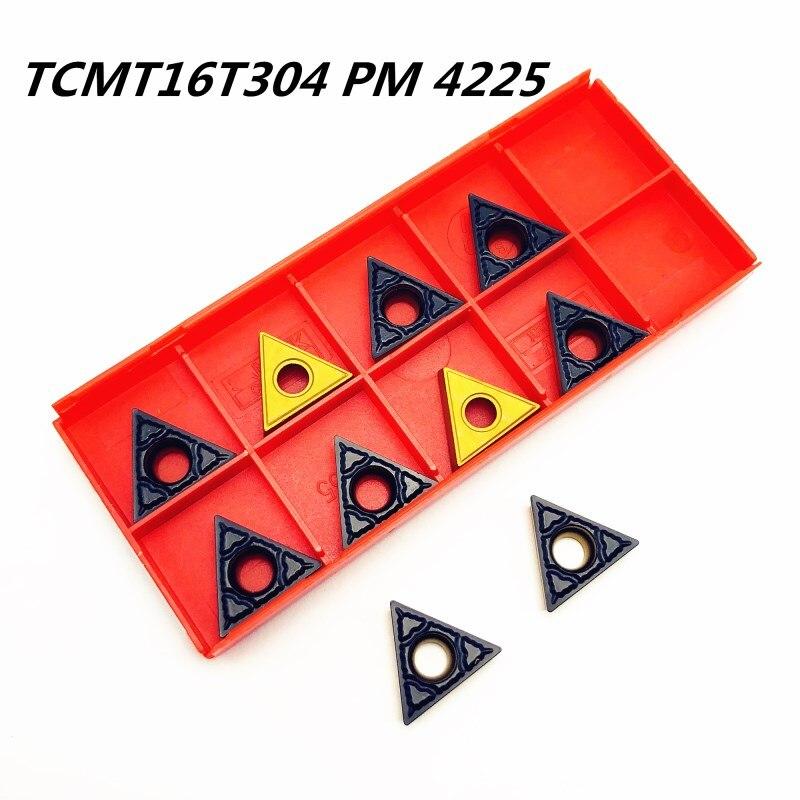 TCMT16T304 pm4225 herramientas de torneado de metal externo de alta calidad CNC accesorios de máquina herramienta de corte tcmt 16t304 herramienta indexable