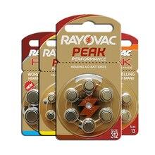 RAYOVAC PEAK A312 A13 A10 A675 Extra Advanced Mercury Free Hearing Aid Batteries (60 pieces)Zinc Air