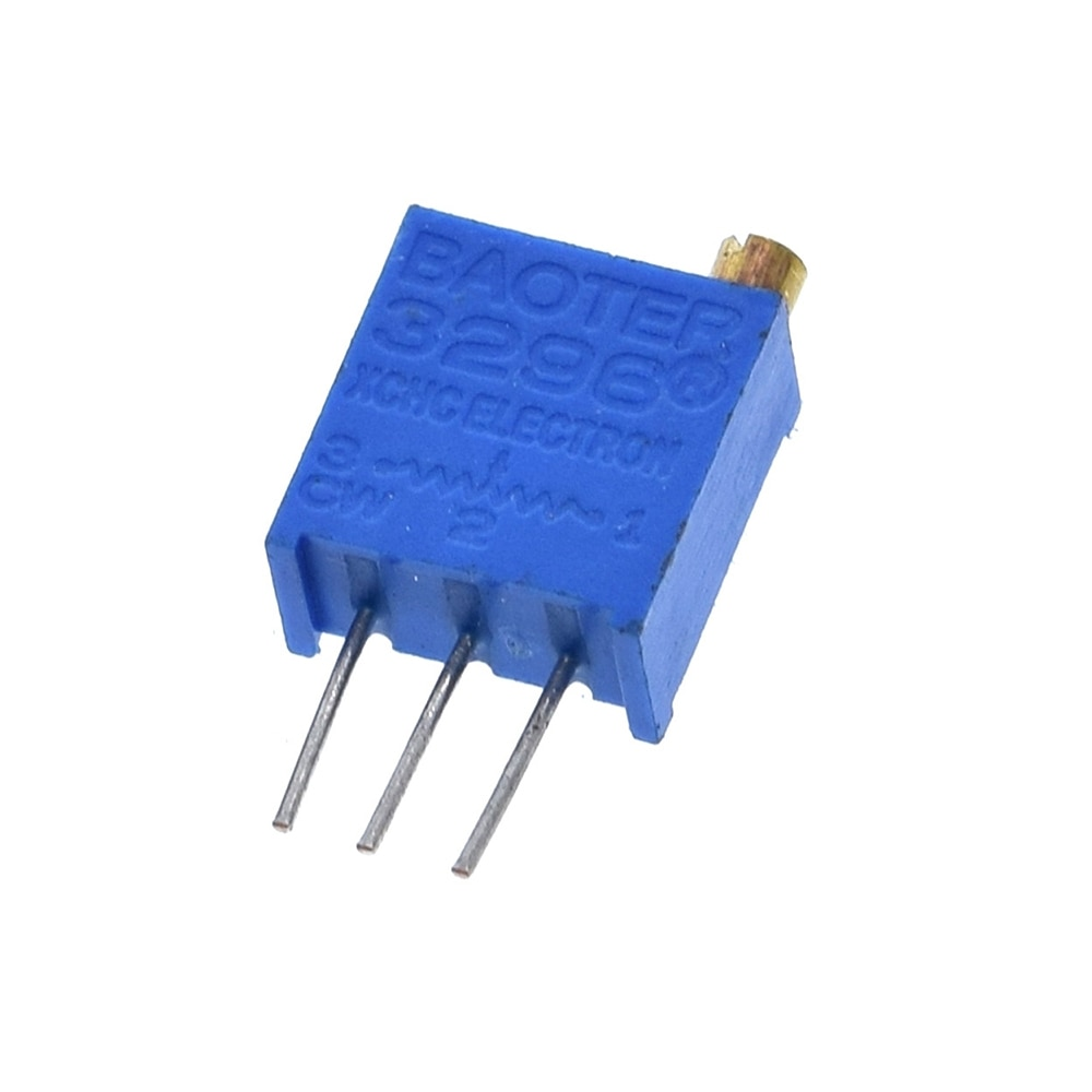 10 Uds potenciómetros Trimmer 3296W-1-103LF 3296W 10Kohm 103 10000ohm Series3296W resistencia variable