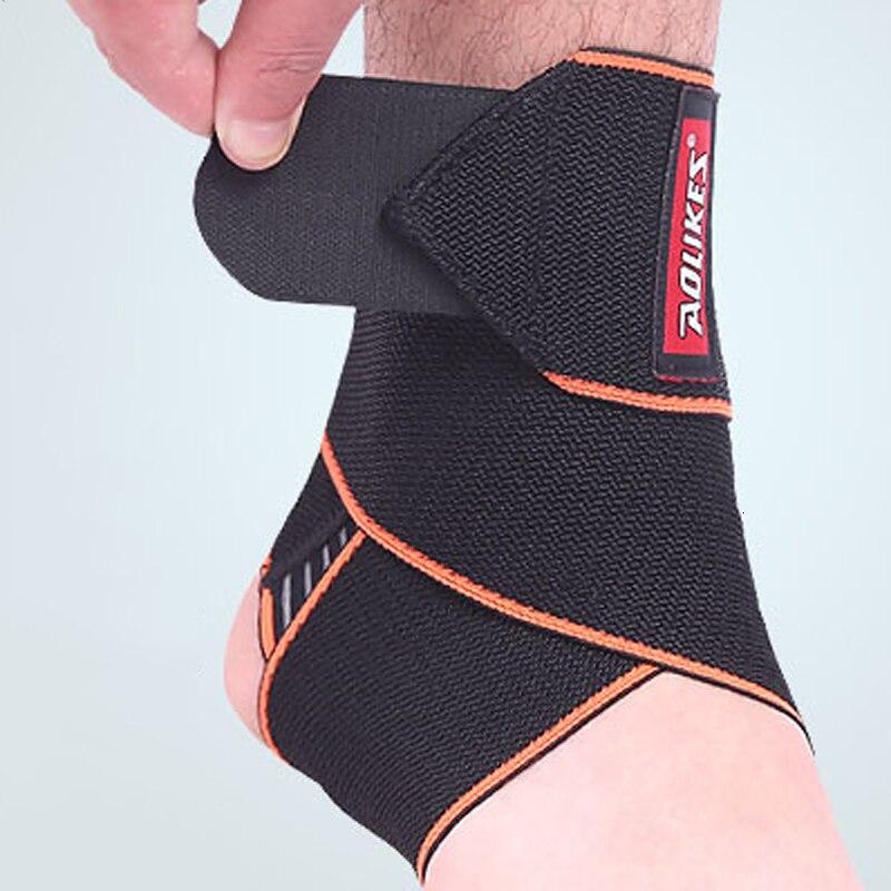 Tobillo soporte de rodilla protección Cinta Elastica Deportiva Vendaje deporte Cinta Vendaje de Presión Automático transpirable deportes Protector