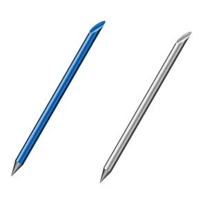 2 Pcs Blue/Silver Novelty Cool Undead Full Metal Fountain Pen Luxury Eternal Pen Gift Box Inkless Pen Beta Pens Writing Statione