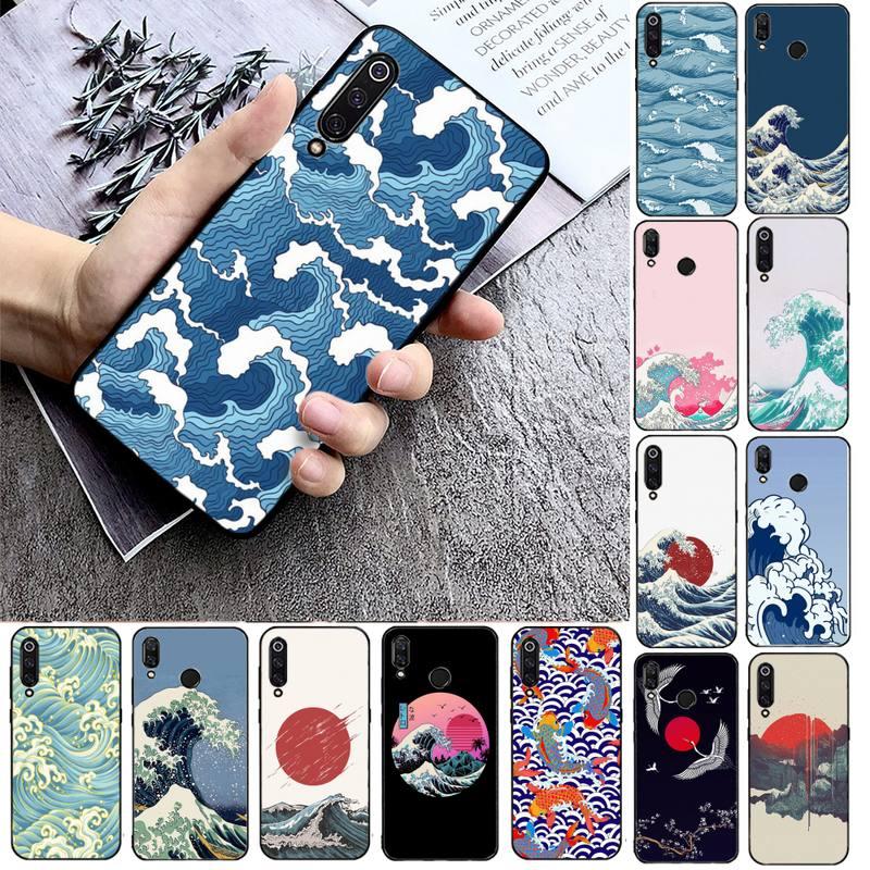 Japanese style Phone Case Phone Case For Xiaomi mi9 mi8 F1 9SE 10lite note10lite Mi8lite Back Coque