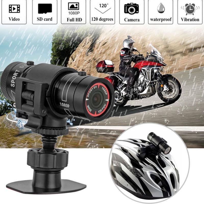 SPTSP F9 HD Sports Camera Mountain Bike Motorcycle Helmet Action Camera Video DV Camera Full HD 1080p Car Video Recorder DVR