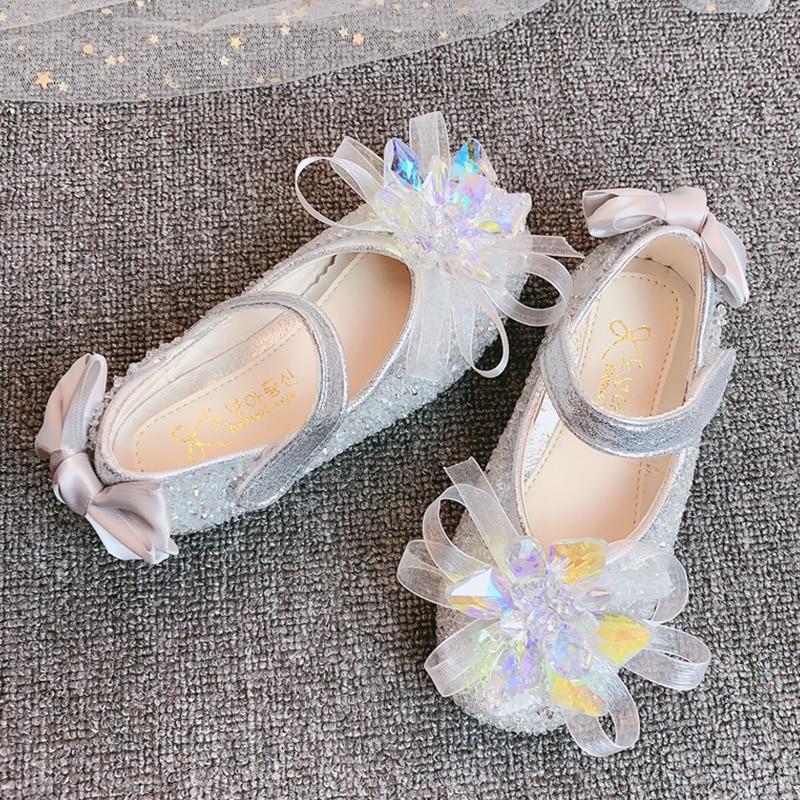 YIHONGMEIQI  Girls' shoes Princess Butterfly shoes girls' summer sandals 2020 girls' new comfortable shoes enlarge