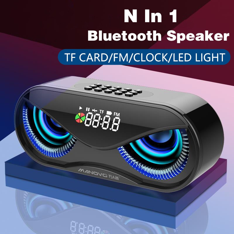 Bluetooth Speaker Portable Wireless Speaker Sound System 10W Music Surround Water Radio Proof Outdoor Radio Alarm Clock enlarge