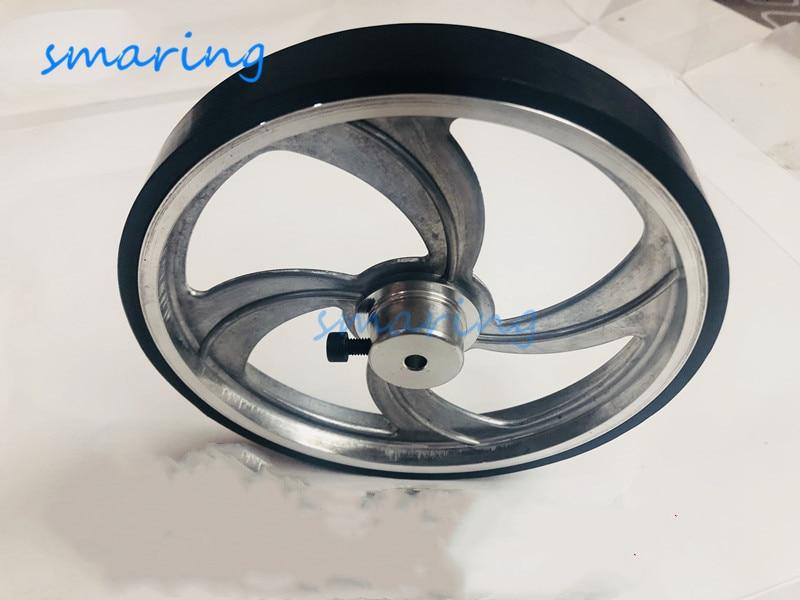 Резиновое колесо 159 мм, нескользящая б�