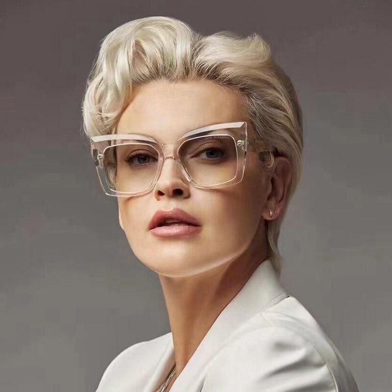 خمر Cateye النظارات الشمسية النساء مثير الرجعية صغيرة عين القط نظارات شمسية العلامة التجارية مصمم النظارات الملونة للإناث Oculos دي سول