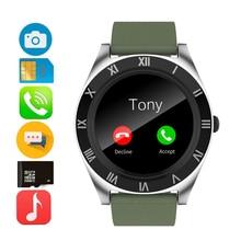 Montre numérique en métal M11 écran rond photographie téléphone montre SIM carte personnes rappel carte appel hommes Sport Bracelet intelligent