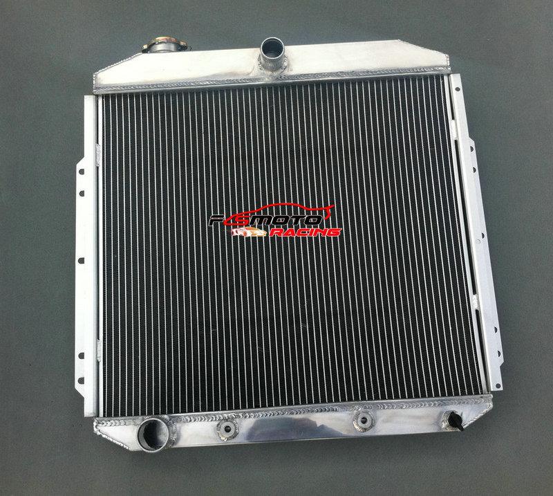 مشعاع ألومنيوم التبريد لفورد التقاط F350 F250 F100 ل 1953 1954 1955 1956 فورد المحرك