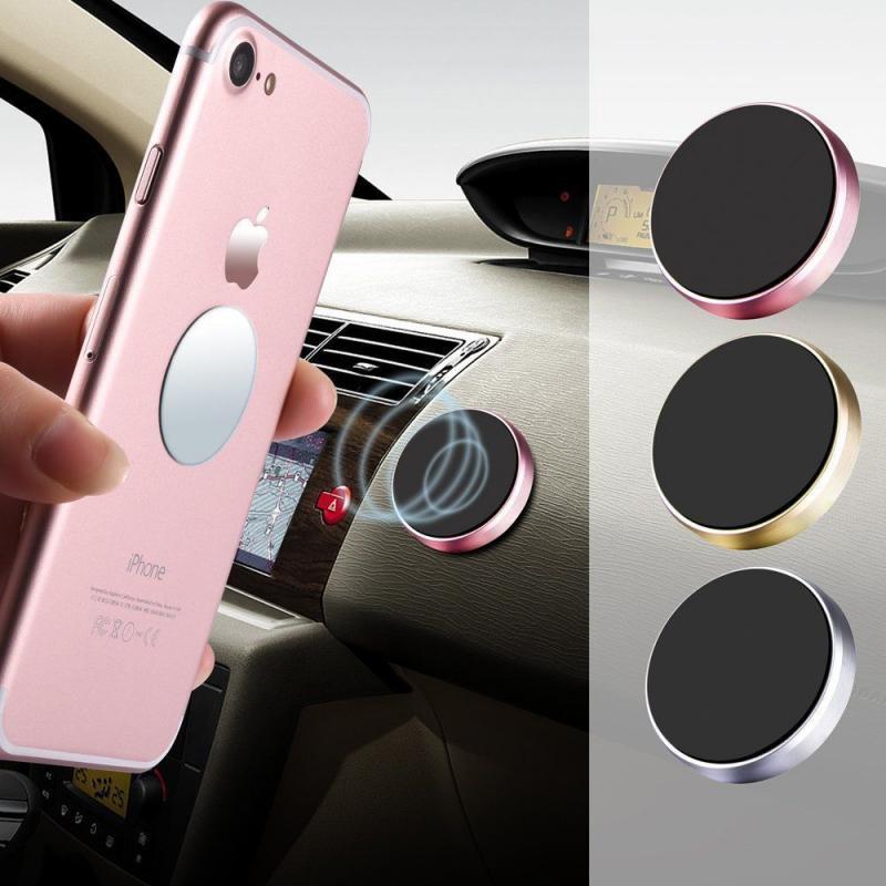 Adhesivo magnético Universal de pared para iPhone, soporte magnético para teléfono móvil, soporte para tablero de automóvil, soporte de montaje para teléfono móvil
